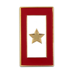 Patriotic GOLD STAR SERVICE FLAG LAPEL TAC PIN