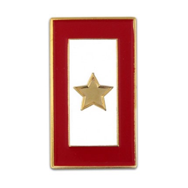 Americana GOLD STAR SERVICE FLAG LAPEL TAC PIN