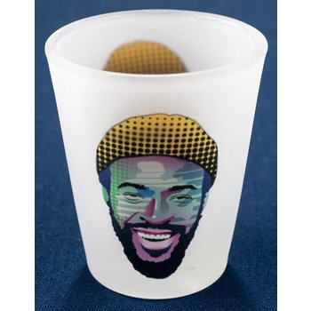Marvin Gaye Frosted Shotglass