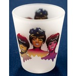 Supremes Frosted Shotglass