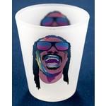 sale-Stevie Wonder Frosted Shotglass