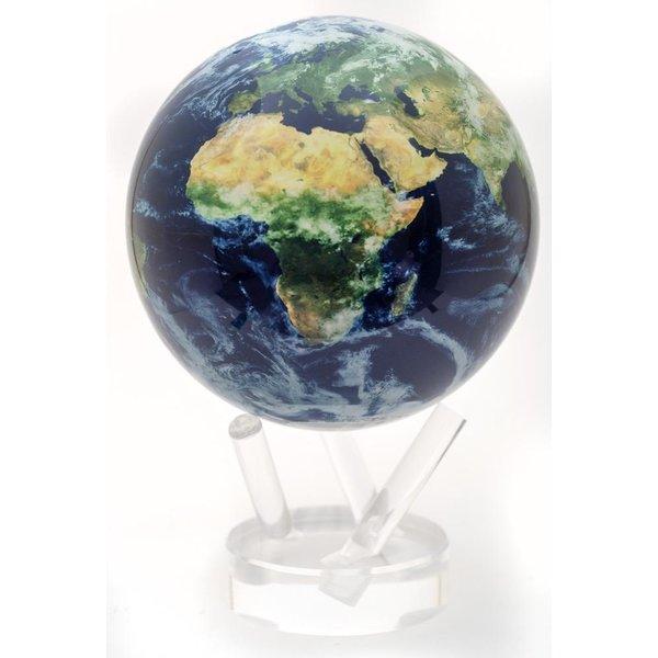 "Earth W/Clouds 4.5"" Globe w/Acrylic Base"