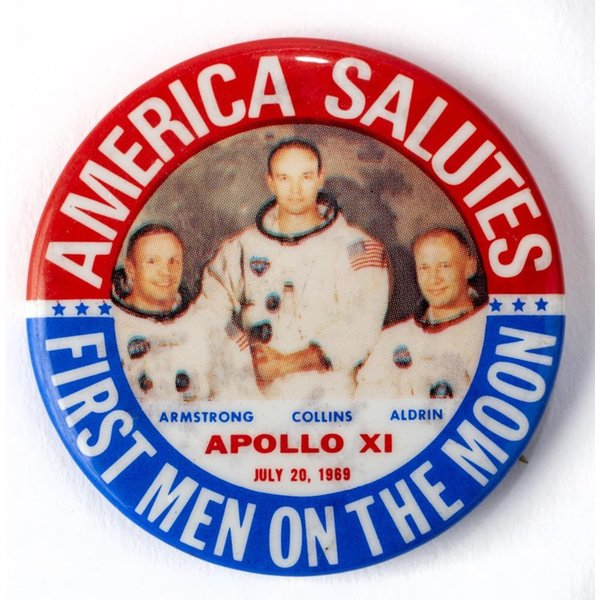APOLLO XI (11) FIRST MEN July 20,1969