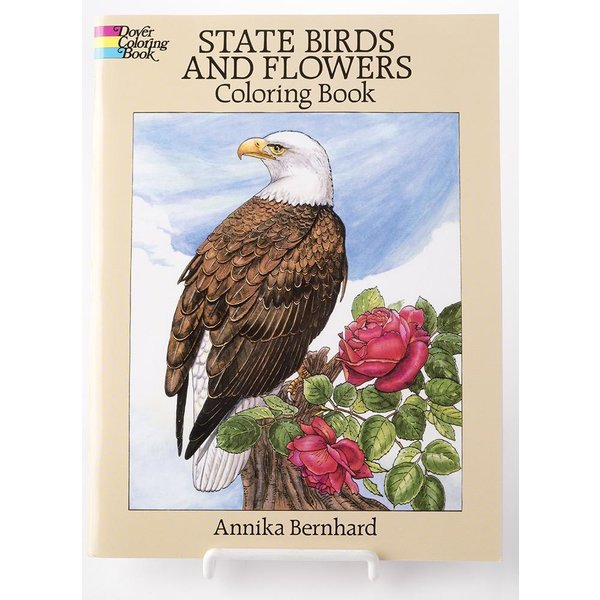 Just for Kids State Birds and Flowers Coloring Book PB