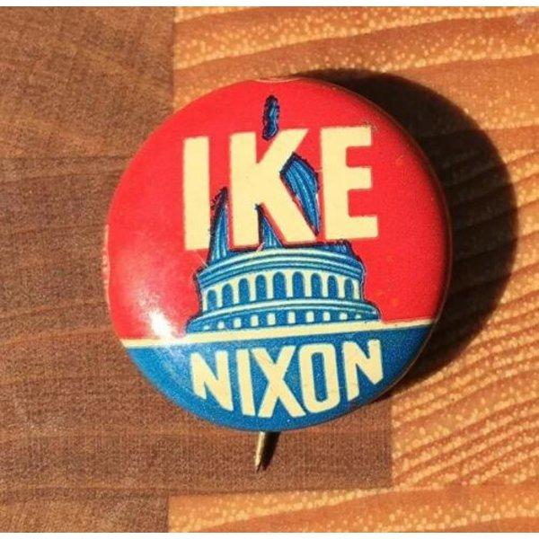 1952 Ike Nixon Campaign Button