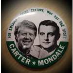 1976 Carter Mondale Campaign Button