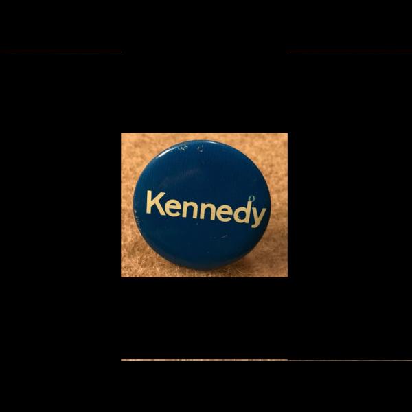 Blue 1968 Robert Kennedy Campaign Button