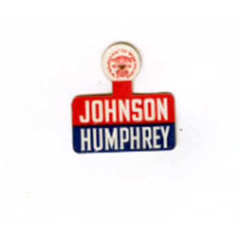 All the Way with LBJ Johnson Humphrey Campaign Tab