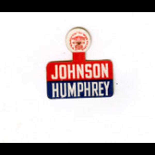 All the Way with LBJ JOHNSON HUMPHREY TAB