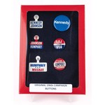 All the Way with LBJ Original 1960s Campaign Button Collection