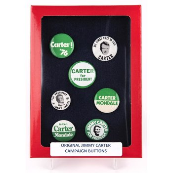 Jimmy Carter Campaign Button Collection