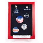 Nelson Rockefeller Campaign Button Collection
