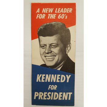 1960 Kennedy for President Campaign Brochure
