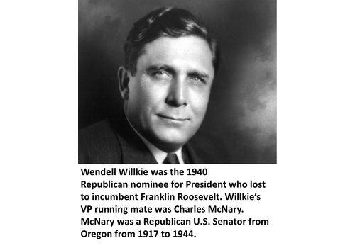 Wendell Willkie Items