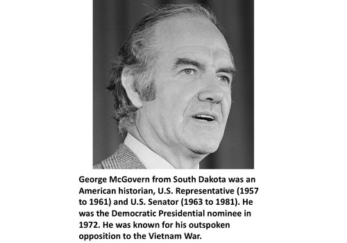 George McGovern Items