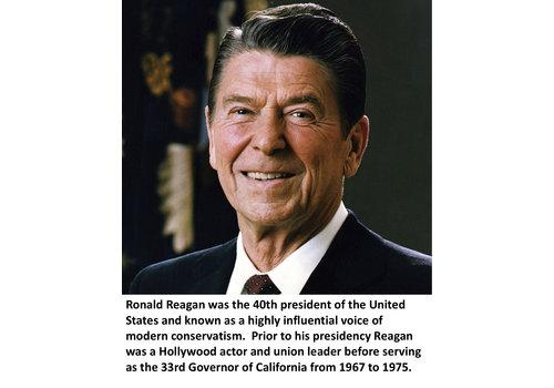 Ronald Reagan Items