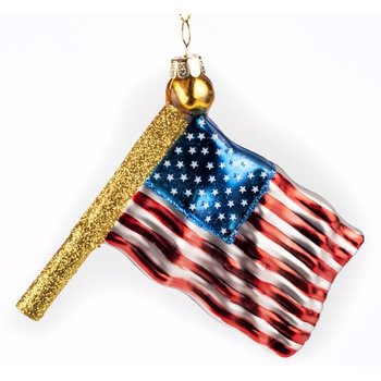 Patriotic US Flag Ornament