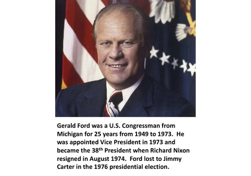 Gerald Ford Items