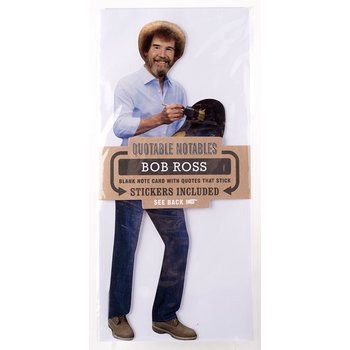 Bob Ross Quotable Notable Card