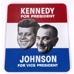 All the Way with LBJ JFK & LBJ Poster Mousepad