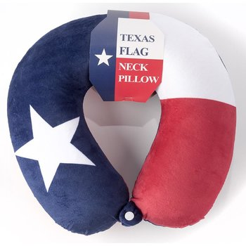 Austin & Texas Texas Flag Neck Pillow