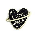 Just for Kids I Love Space Enamel Pin