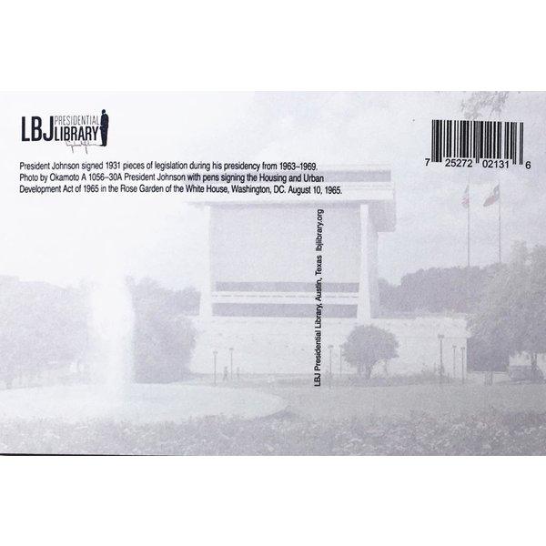 All the Way with LBJ LBJ Legislation Postcard