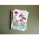 Austin & Texas Indian Paintbrush With Bee Card