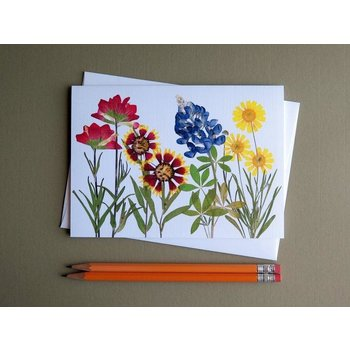 Austin & Texas Texas Wildflowers Card