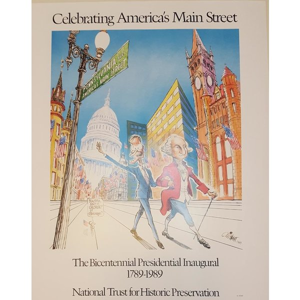 Bicentennial inauguration 1789-1989 Poster