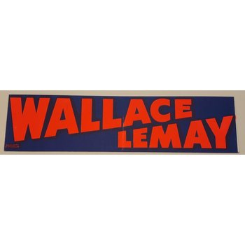 Wallace-LeMay Bumper Sticker