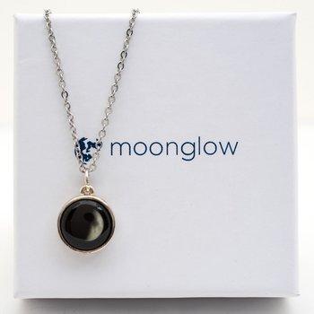 SE Solar Eclipse Moon Necklace