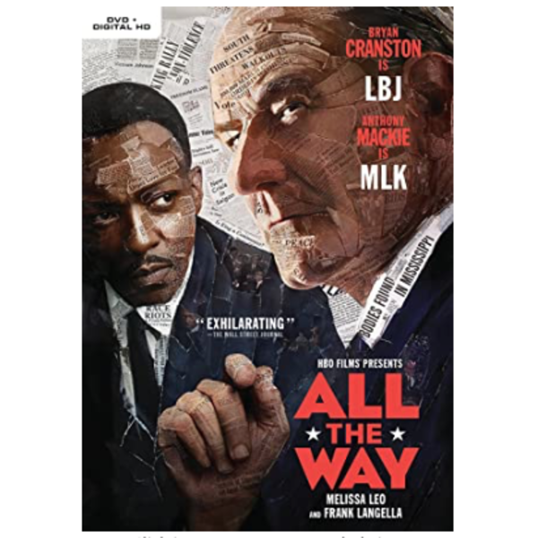 All the Way with LBJ All The Way DVD
