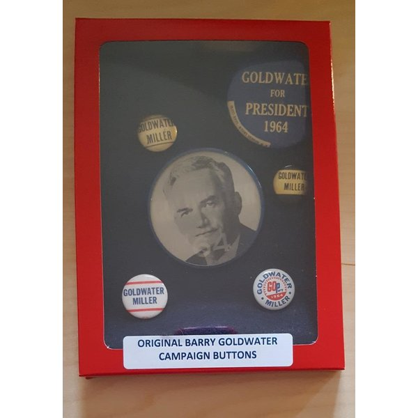 Barry Goldwater Campaign Button Collection