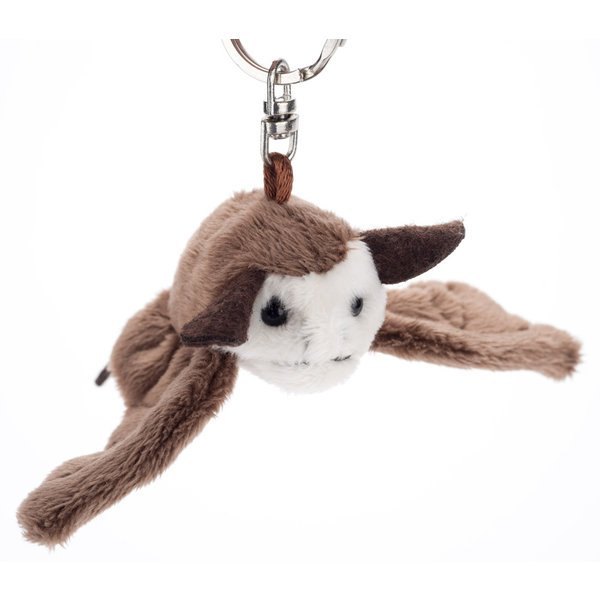Just for Kids Bat Plush Keychain