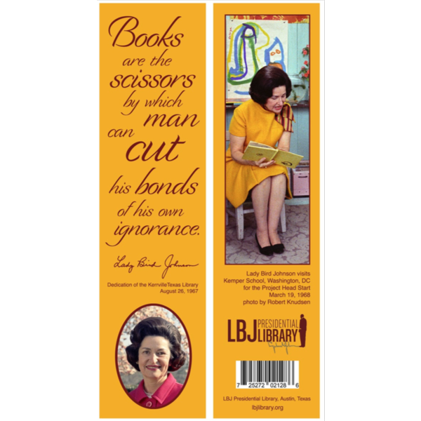 Lady Bird Books are the Scissors Bookmark