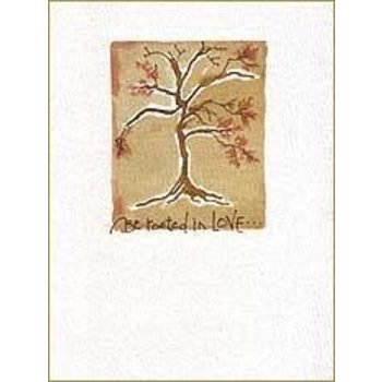 Lady Bird Be Rooted Sympathy Card