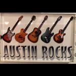 Austin & Texas Austin Rocks Magnet