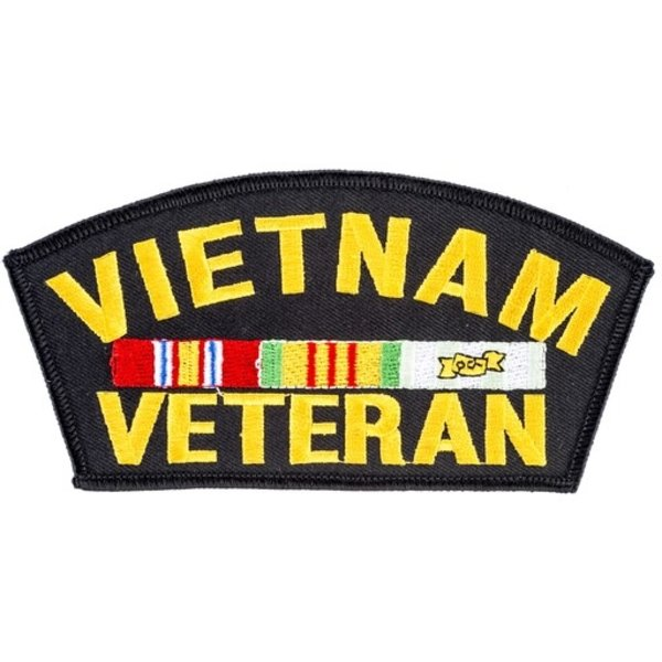 All the Way with LBJ Vietnam Veteran Patch