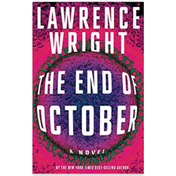 Sale - The End of October by Lawrence Wright -Signed HB
