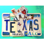 Austin & Texas Texas Travel Y'all Blank Card