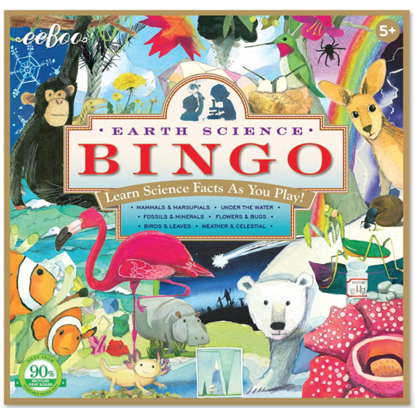 Just for Kids Natural Science Bingo