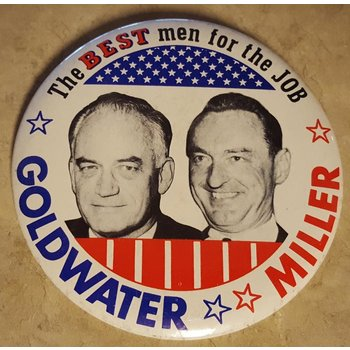 The Best Men for the Job Campaign Button