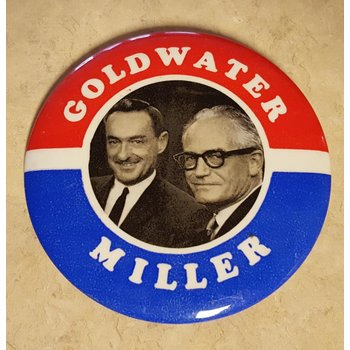 Goldwater Miler Campaign Button