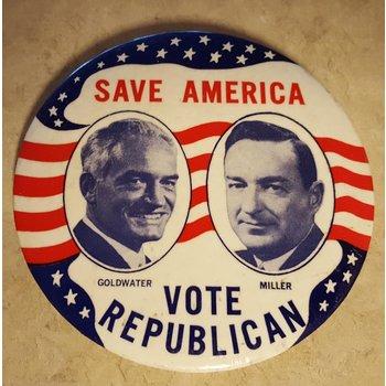 Save America Vote Republican Campaign Button