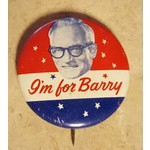 I'm For Barry Campaign Button