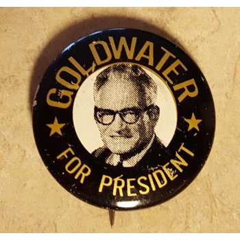 Goldwater For President Campaign Button