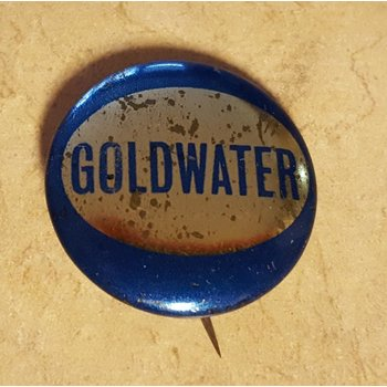 Goldwater Blue Gold Campaign Button