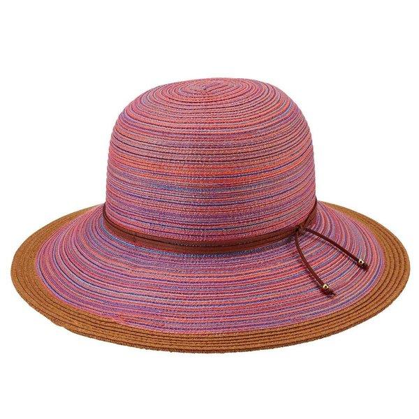 Lady Bird sale-Mixed Brim Rust Hat