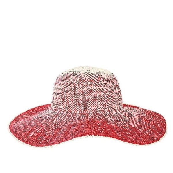 "Lady Bird sale-5"" Brim Red Hat"